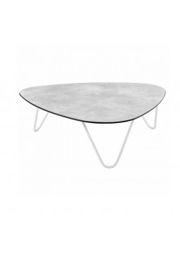 TABLE BASSE LAFUMA COCOON CIMENT KAOLIN